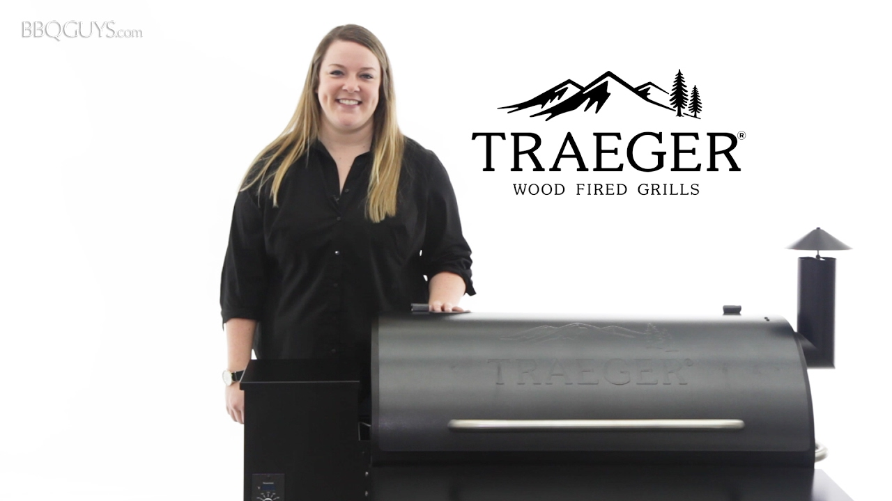 Traeger Pro Wood Fired Pellet Grill Overview | BBQGuys com