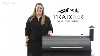 Traeger Pro Wood Fired Pellet Grill Overview | BBQGuys.com