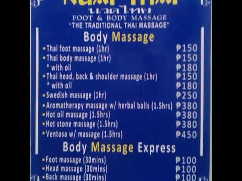 thai massage song massage södermalm