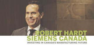 Thumbnail Interview with Robert Hardt | Investment Attraction by Siemens in New Brunswick