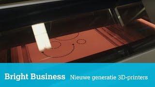Een nieuw type 3D-printer kan in de toekomst hele producten printen...