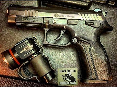 Grand Power K100 MK12 9mm Pistol Review