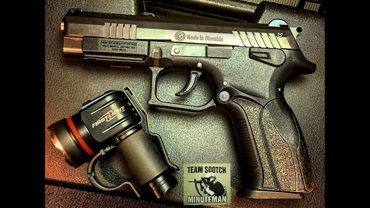 Grand K100 Mk12 9mm Pistol Review
