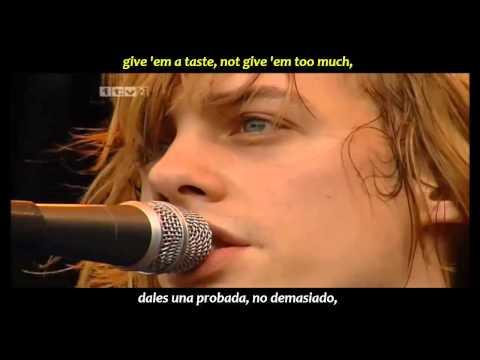 Razorlight - Golden touch (inglés y español)