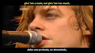Razorlight - Golden touch (inglés y español)