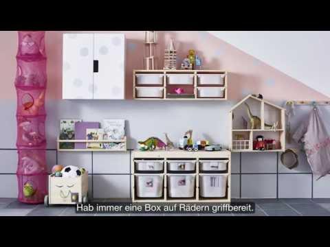IKEA Organisationskunst: Spielzeugaufbewahrung - YouTube