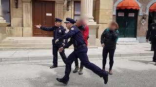 CADETES DE POLICÍA; LOCA ACADEMIA DE POLICÍA. ABRIL 2019