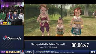 #ESASummer18 Speedruns - The Legend of Zelda: Twilight Princess HD [Any%] by Lolicry