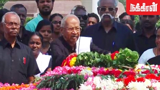 K Veeramani Pays Tribute To Anna On His Death Anniversary