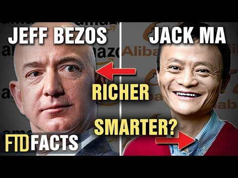 The Differences Between JACK MA and JEFF BEZOS