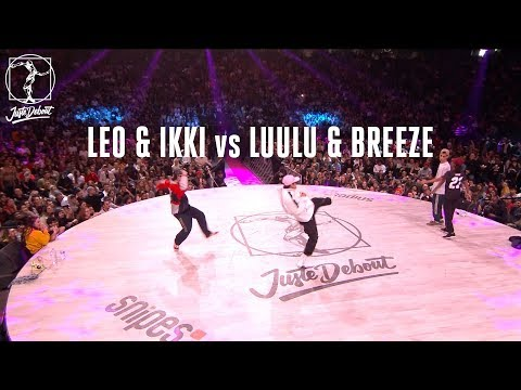 Hip Hop battle : Leo & Ikki vs Luulu & Breeze