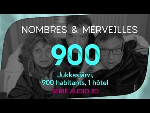 Vidéo N° 900 - Jukkasjärvi, 900 habitants, 1 hôtel