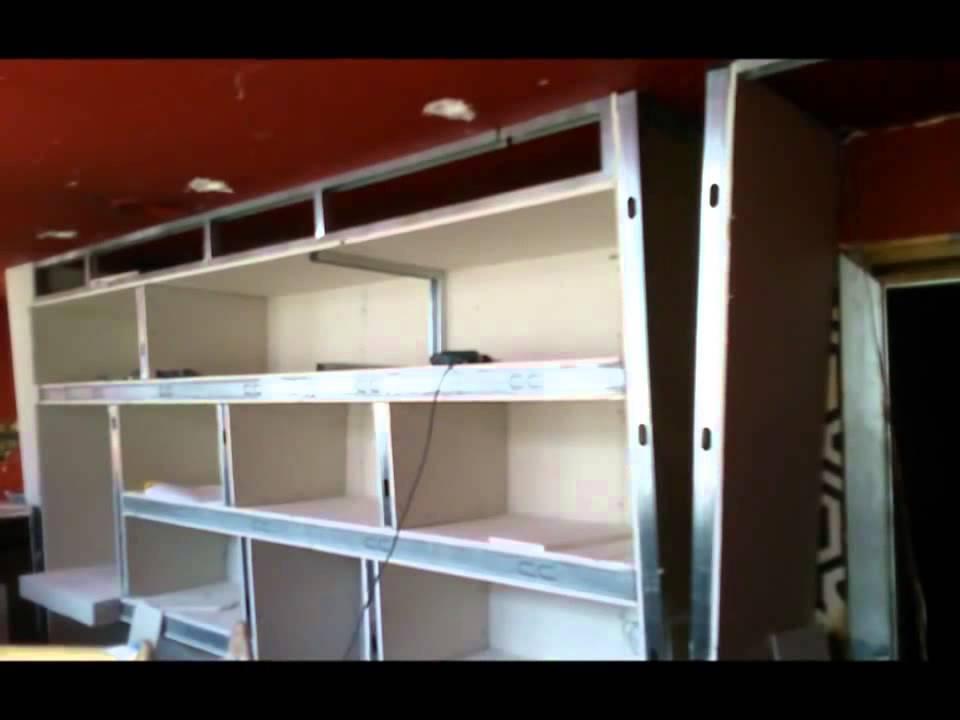 Mueble pladur pladur madrid barato youtube - Muebles en pladur ...