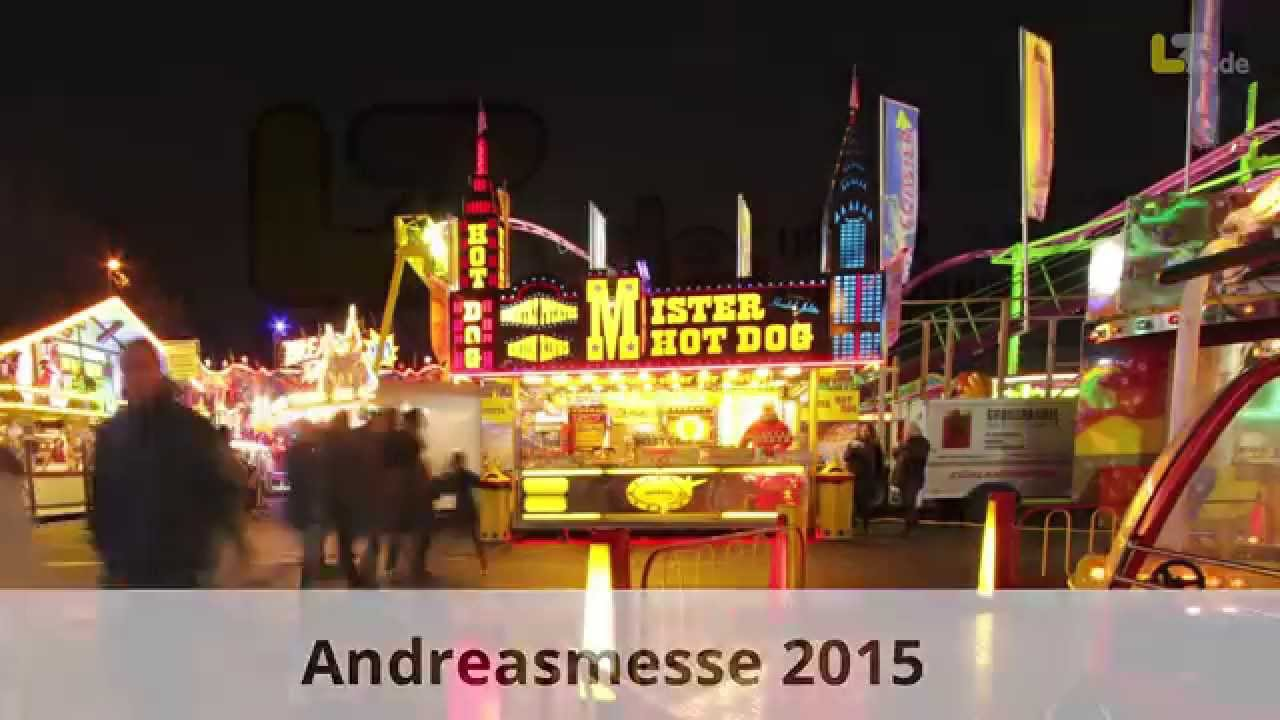 Andreasmesse 2015 in Detmold - LZ.de - YouTube