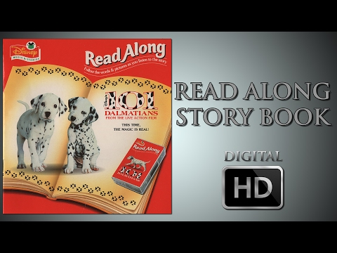 101 Dalmatians - Read Along Story book - Digital HD - Glenn Close - Jeff Daniels - Joely Richardson