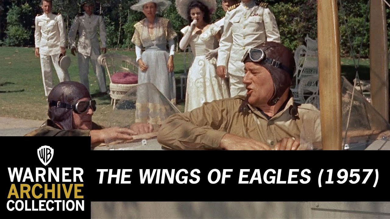 War Movie : The Wings of Eagles 1957   ( Full Film )