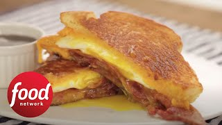 Smoky-Sweet Bacon, Egg and Maple Grilled Cheese  Food Network