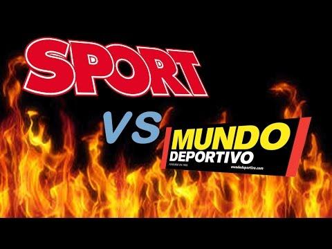 GUERRA SPORT vs MUNDO DEPORTIVO !!! MANIPULACIÓN.. MENTIRAS..