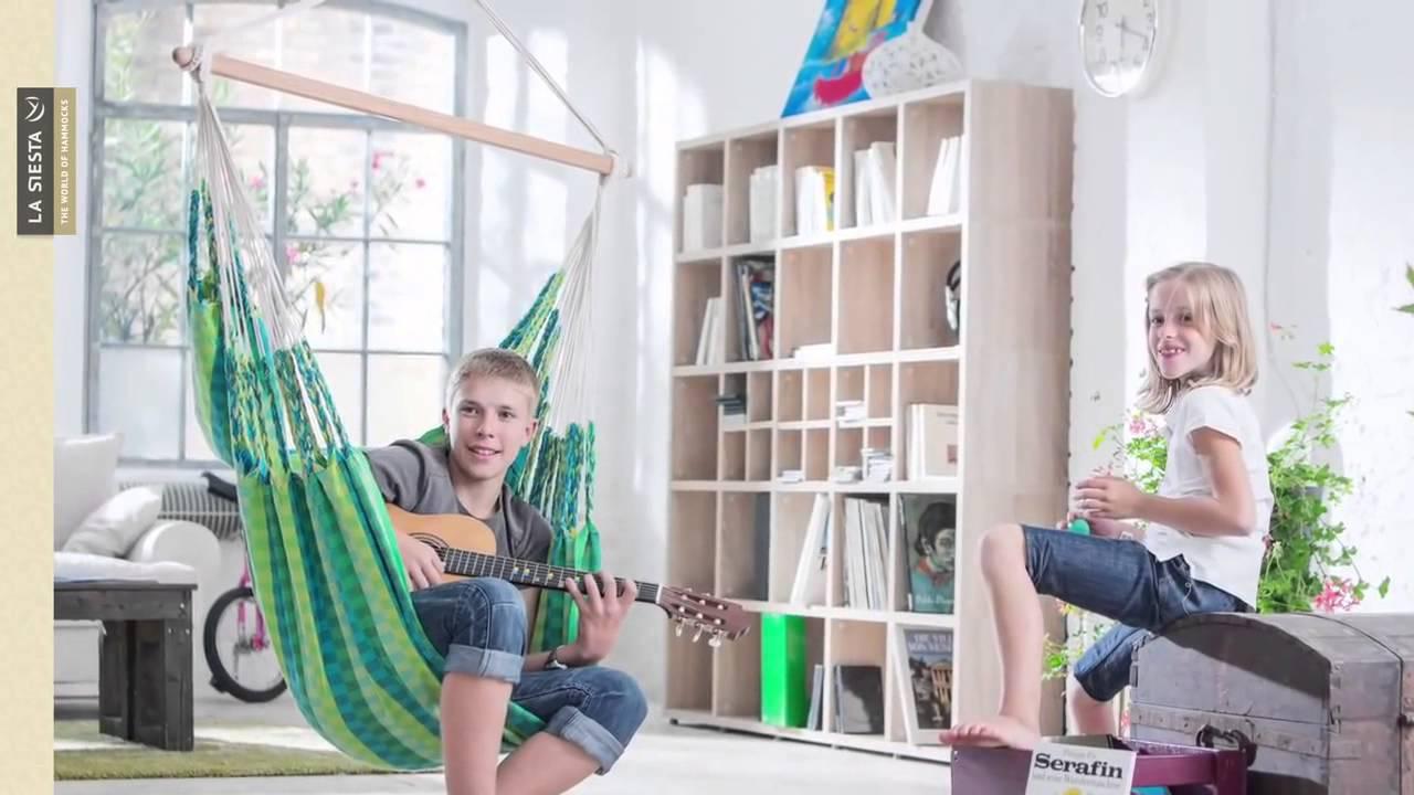 Детское подвесное кресло JOKI LA SIESTA - YouTube