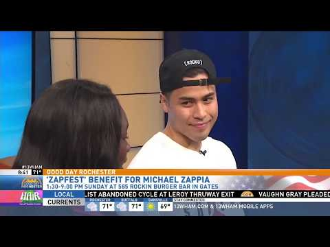 "Danny Win performs on Good Day Rochester and ""Zapfest"""