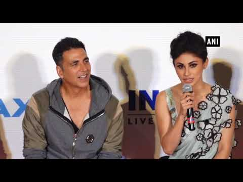 There Is No Hierarchy On Set Of Akshay Kumars Film Mouni Roy