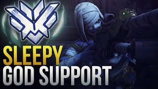 Sleepy - INSANE PRO NA SUPPORT - Overwatch Montage