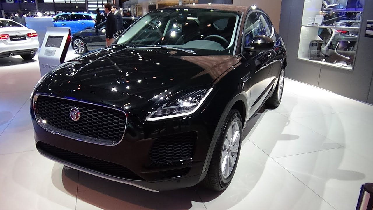 Interieur E Pace Jaguar 2019 Jaguar E Pace D150 Exterior And Interior Paris Auto Show 2018