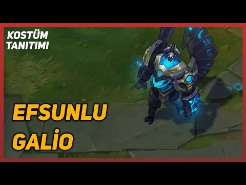 Enchanted Galio (Skin Preview) League of Legends