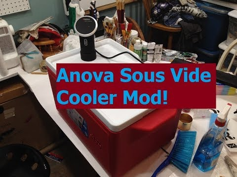 Anova Sous Vide Cooler Modification