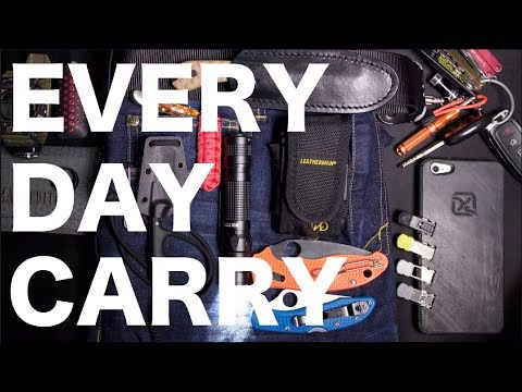 Everyday Carry Pocket Dump | What's in YOUR Pockets??? | EDC 2018