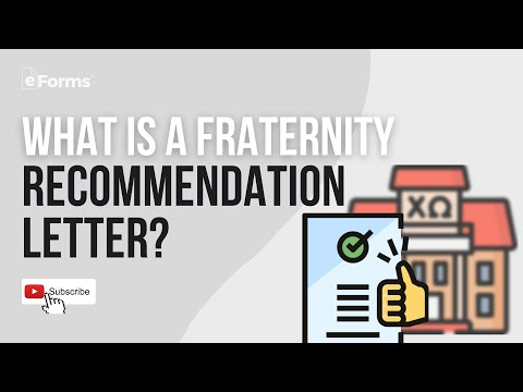 Letter Of Recommendation For Fraternity from i.ytimg.com
