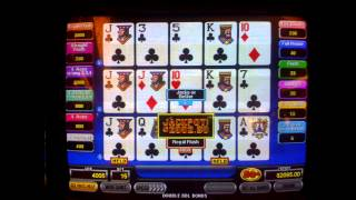 My Greatest Video Poker Hands
