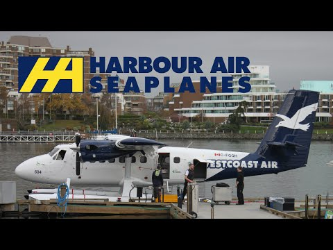 Vancouver to Victoria - Departure and Arrival - Harbour Air