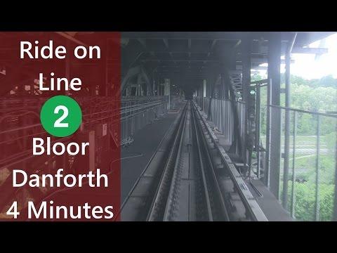 [HD] Ride on Line 2 Bloor-Danforth Kennedy-Kipling in 4 Minutes (Timelapse)