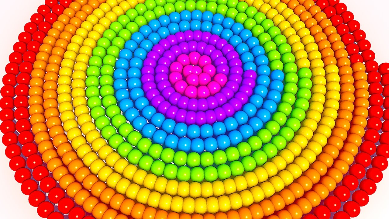 Learn Colors with 3D Spiral Ice Cream for Kids and Children
