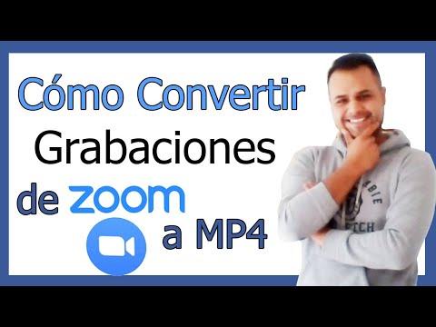 Como Convertir Grabaciones de Zoom a MP4