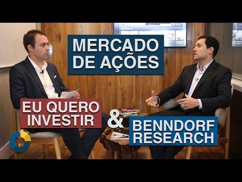 ⭐Mercado de Ações Parceria Eu Quero Investir & Benndorf Research