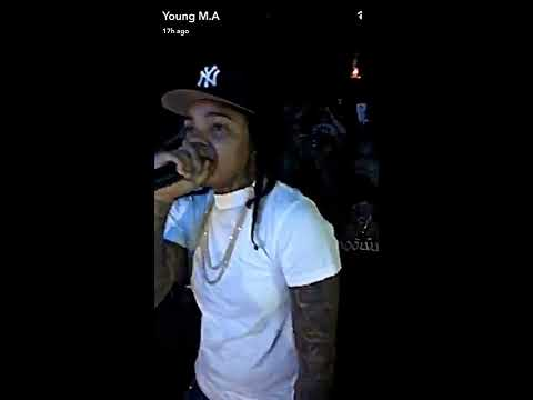 Young M.A Cruising through NYC -Performing...
