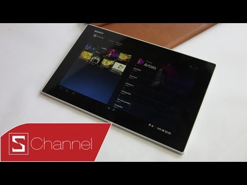 Schannel - Mở hộp Xperia Tablet Z chính hãng - CellphoneS