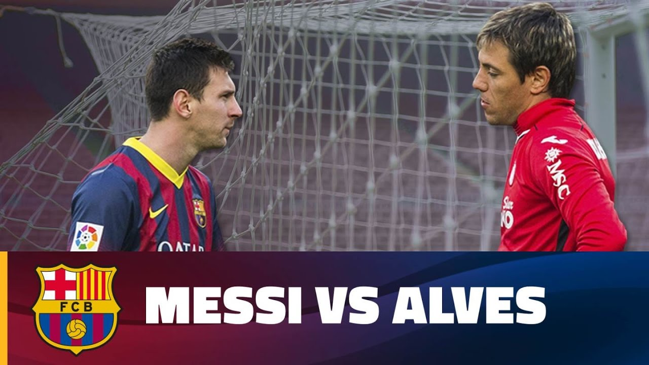 Leo messi and diego alves old rivals meet again youtube leo messi and diego alves old rivals meet again m4hsunfo Choice Image