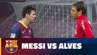 Baixar Leo Messi and Diego Alves: Old rivals meet again