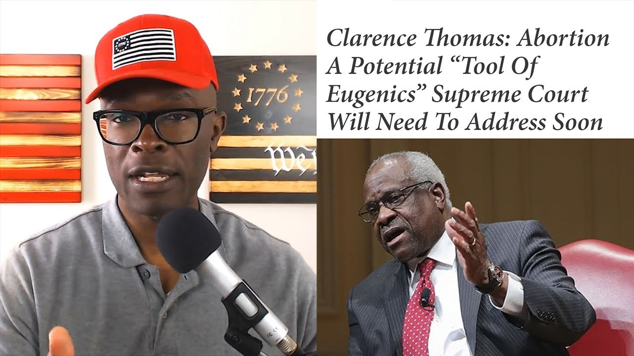 Anthony Brian Logan- Clarence Thomas WRECKS Abortion With SCATHING 20 Page Opinion!