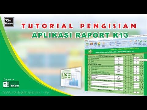 Tutorial Raport K13 NEW
