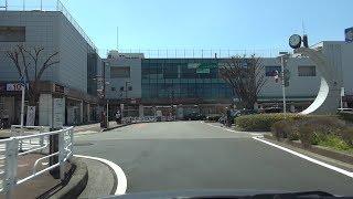 埼玉県道411号 02 加須停車場線 加須→加須駅 車載