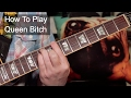 Download 'Queen Bitch' David Bowie Guitar Lesson MP3 song and Music Video