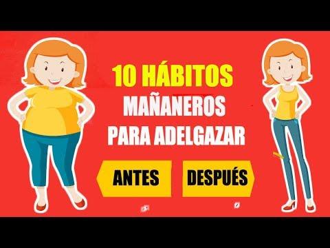 10 TRUCOS MAÑANEROS PARA ADELGAZAR RÁPIDO SIN HACER DIETAS