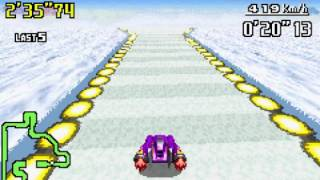 F Zero Maximum Velocity GBA Game Over