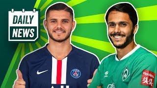 Deadline Day: Icardi und Navas - PSG schlägt doppelt zu!
