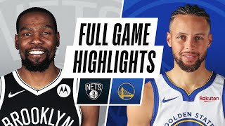 Golden State Warriors vs Brooklyn Nets | February 13, 2021
