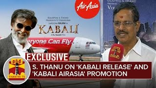 Exclusive Interview with Kalaipuli S. Thanu about 'Kabali' Release and 'Kabali AirAsia' Promotion